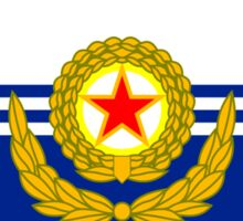 Flag of the Korean People's Navy Sticker
