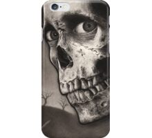 Evil Dead 2 - Bloody Ash with Skull Horror Art iPhone Case/Skin