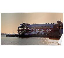 Pier 17 - South Street Seaport NYC Poster