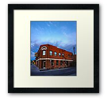Fallon, Nevada Framed Print