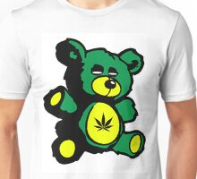 I Love Pot Clothing Stash Bear Unisex T-Shirt