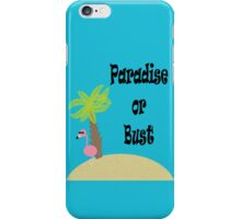 Flamingo Paradise or Bust iPhone Case/Skin