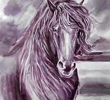 the horse by Dobrochinskaya