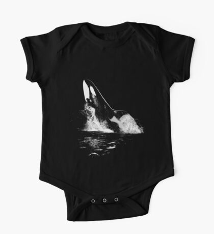Leaping Orca One Piece - Short Sleeve