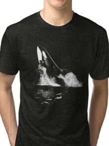 Leaping Orca Tri-blend T-Shirt