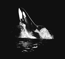 Leaping Orca Unisex T-Shirt