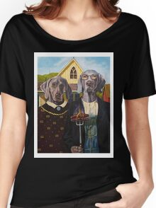 American Dogs Women's Relaxed Fit T-Shirt