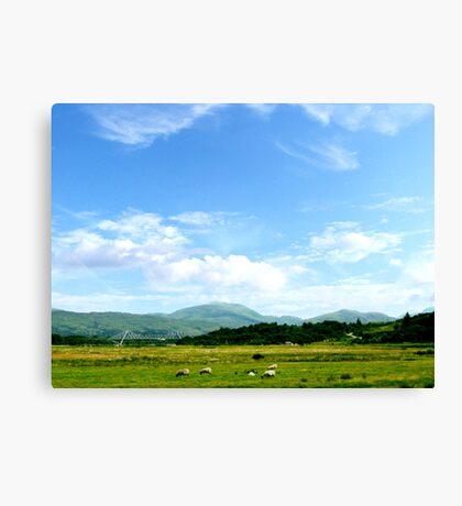 Highlands Scotland Canvas Print