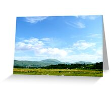 Highlands Scotland Greeting Card