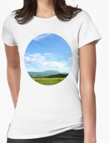 Highlands Scotland Womens Fitted T-Shirt