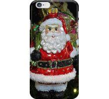 Christmas Tree Ornament - Santa iPhone Case/Skin