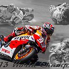 Marc Marquez 2013 World Champion by corsefoto