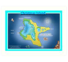 Christmas Island (Kiritimati) Art Print