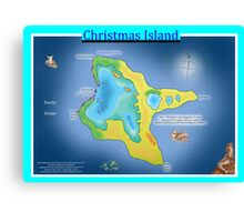Christmas Island (Kiritimati) Canvas Print