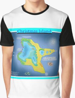 Christmas Island (Kiritimati) Graphic T-Shirt