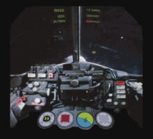UFO Interceptor cockpit view by Radwulf