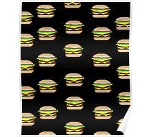 Pixel-Burger Poster
