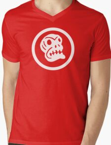 Boingo Skull Mens V-Neck T-Shirt
