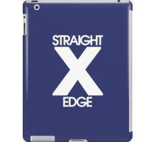 Straightedge (white) iPad Case/Skin