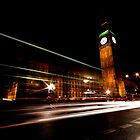 Big Ben & the night bus by Darren Bailey LRPS