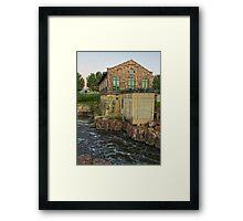 Sioux Falls Framed Print