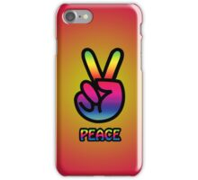 Smartphone Case - Hand of Peace 30 iPhone Case/Skin