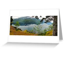 Forks, Washington Greeting Card