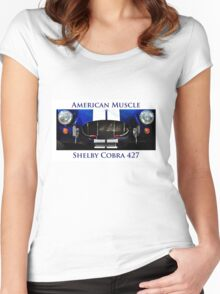 American Muscle - Shelby Cobra 427 Women's Fitted Scoop T-Shirt