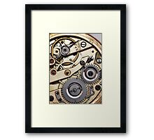 Clockwork 1 Framed Print