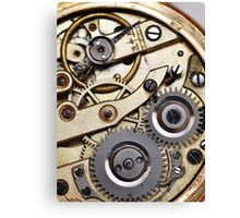 Clockwork 1 Canvas Print
