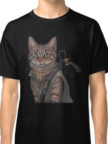 Norman Reedus Cat  Classic T-Shirt