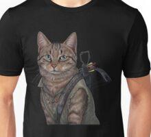 Norman Reedus Cat  Unisex T-Shirt