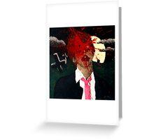 Zombie Kill Shot Greeting Card