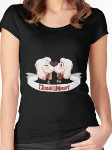 Nose Heart! <3 Women's Fitted Scoop T-Shirt