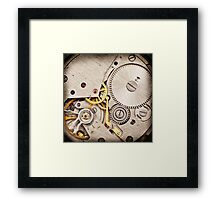 Clockwork 3 Framed Print