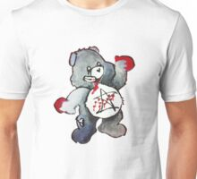 Zombie Bear has a one track mind Unisex T-Shirt