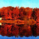 Mirrored Autumn by Ginger  Barritt