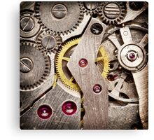 Clockwork 4 Canvas Print