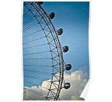 London Eye shape 2 Poster