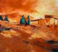 Terra di Siena by Elise Palmigiani
