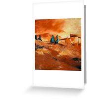 Terra di Siena Greeting Card