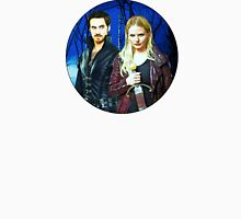 Captain Swan Comic Poster Logoless Design Version 3 Womens Fitted T-Shirt