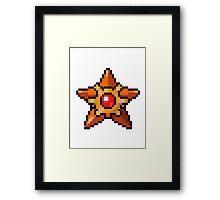 Pokemon - Staryu Framed Print