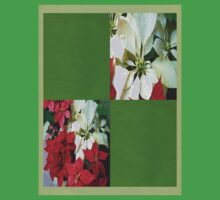 Mixed color Poinsettias 1 Blank Q5F0 Kids Tee