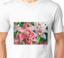 Red Orchids Unisex T-Shirt