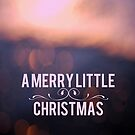 A Merry Little Christmas  by Nicola  Pearson