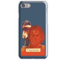 Richard Feynman grey phone case iPhone Case/Skin