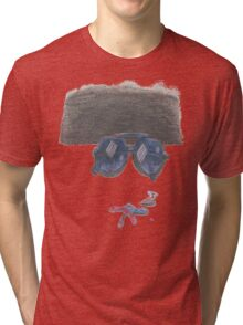 Shades of Color Tri-blend T-Shirt