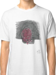 Rose in Red Classic T-Shirt