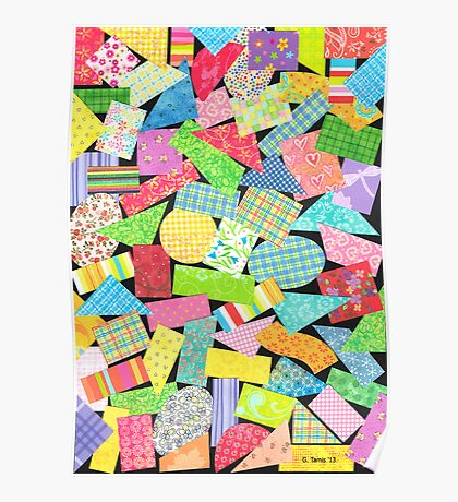 75 PIECES OF PAPER DECORATION Poster